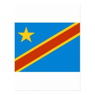 Bandera de Zaire Postales