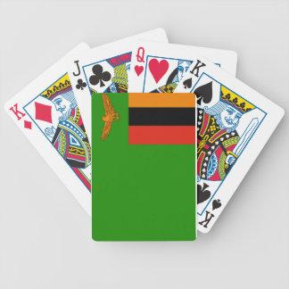 Bandera de Zambia Cartas De Juego