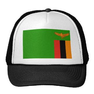 Bandera de Zambia Gorra