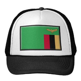 Bandera de Zambia Gorras