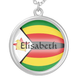 Bandera de Zimbabwe + Collar conocido