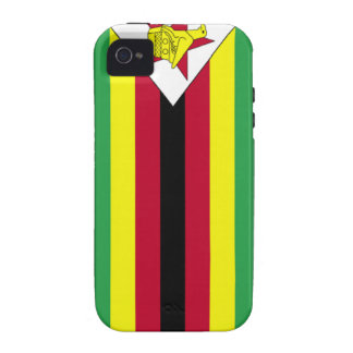 Bandera de Zimbabwe Vibe iPhone 4 Carcasa