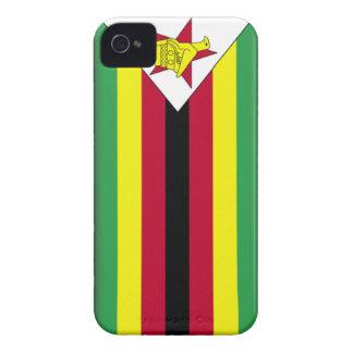 Bandera de Zimbabwe iPhone 4 Funda