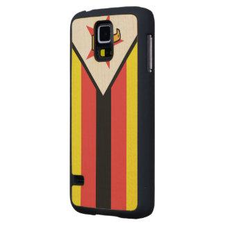 Bandera de Zimbabwe Funda De Galaxy S5 Slim Arce