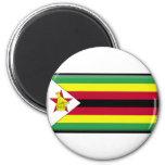 Bandera de Zimbabwe Imán De Frigorífico