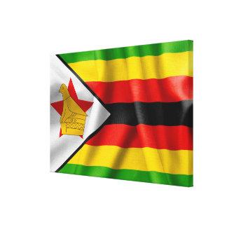 Bandera de Zimbabwe Impresion En Lona