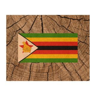 Bandera de Zimbabwe Papel De Corcho Para Fotos
