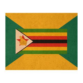 Bandera de Zimbabwe Papel De Corcho