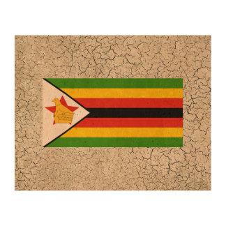 Bandera de Zimbabwe Impresiones En Corcho