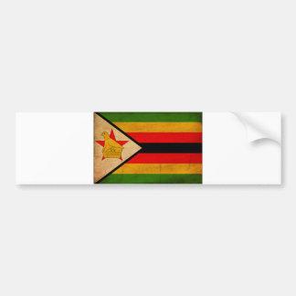Bandera de Zimbabwe Pegatina Para Auto