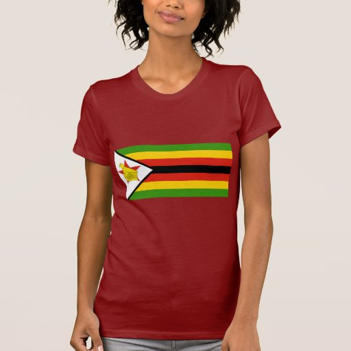 Bandera de Zimbabwe Playera