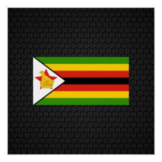 Bandera de Zimbabwe Perfect Poster