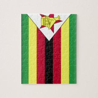 Bandera de Zimbabwe Rompecabeza Con Fotos