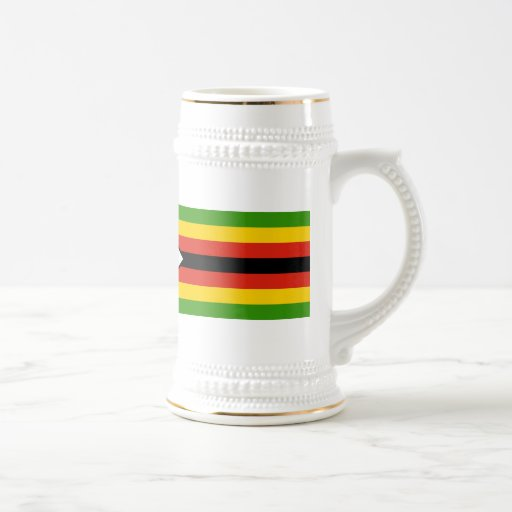 Bandera de Zimbabwe Taza