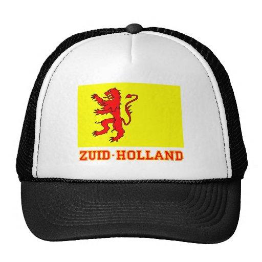 Bandera de Zuid-Holland con nombre Gorro De Camionero
