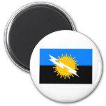 Bandera de Zulia Imanes Para Frigoríficos
