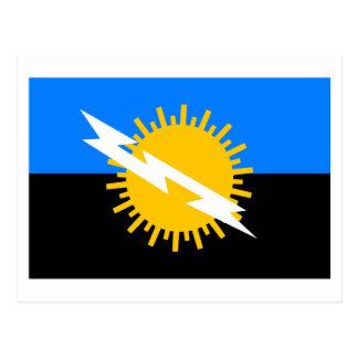 Bandera de Zulia Postal