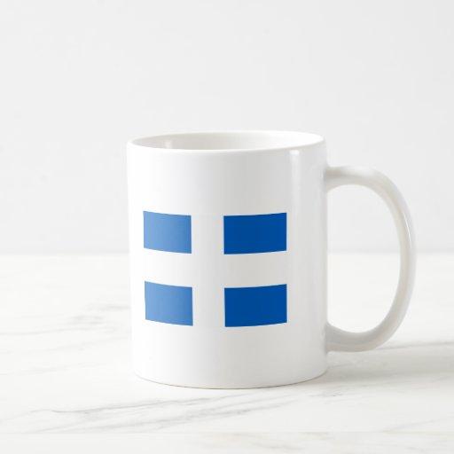 Bandera de Zwolle Tazas De Café