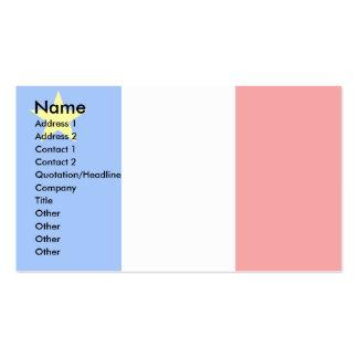 Bandera del Acadia de Canadá Tarjetas De Visita