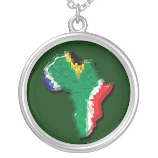 Bandera del africano de Suráfrica RSA Pendiente Personalizado