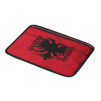 """Bandera del aire 11"""" de Albania MacBook manga Funda Para Macbook Air"""