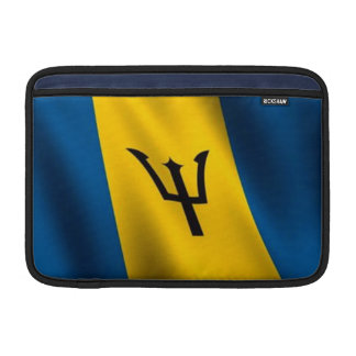 Bandera del aire 11 de Barbados MacBook manga Funda Macbook Air