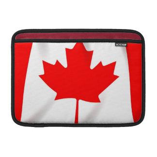 """Bandera del aire 11"""" de Canadá MacBook manga Fundas Macbook Air"""