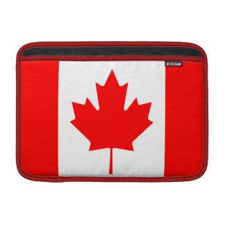 """Bandera del aire 11"""" de Canadá MacBook manga Fundas MacBook"""