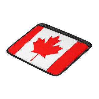 """Bandera del aire 13"""" de Canadá MacBook manga Fundas Para Macbook Air"""