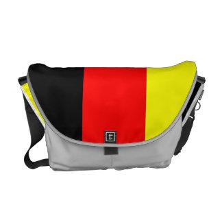 Bandera del alemán del bolso de WJ Bolsas De Mensajeria