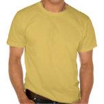 Bandera del amarillo negro del texto de Jamaica Camiseta