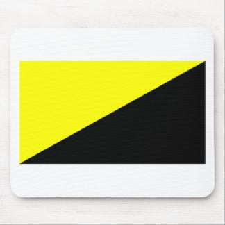 Bandera del Anarcho-Capitalista Tapetes De Raton