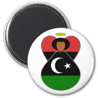 Bandera del ángel de Libia Imán