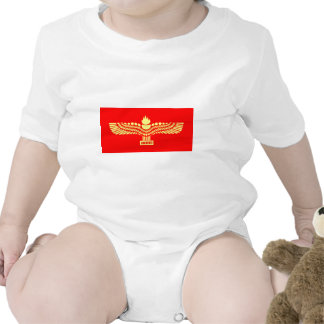 Bandera del Aramaic de Syriac Trajes De Bebé