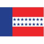 Bandera del archipiélago de Tuamotu, Francia Escultura Fotografica