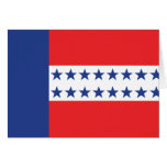 Bandera del archipiélago de Tuamotu, Francia Tarjetas
