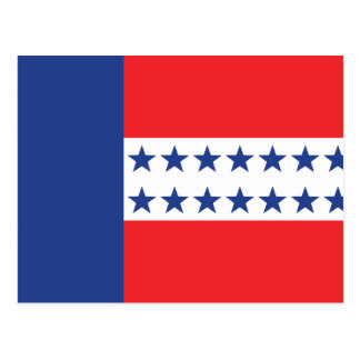 Bandera del archipiélago de Tuamotu, Francia Postal
