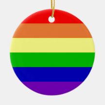 Bandera del arco iris adorno para reyes