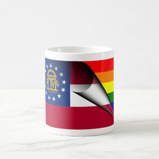 Bandera del arco iris de Georgia Taza Mágica