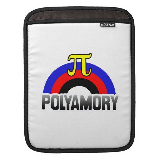 BANDERA DEL ARCO IRIS DE POLYAMORY MANGAS DE iPad