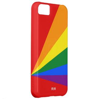 Bandera del arco iris del color de LGBT