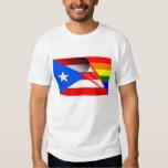 Bandera del arco iris del orgullo gay de Puerto Playeras