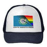 Bandera del arco iris del orgullo LGBT de Dakota d Gorro De Camionero