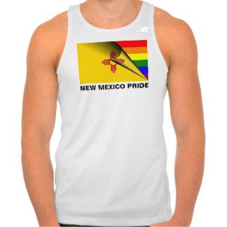 Bandera del arco iris del orgullo LGBT de New Polera