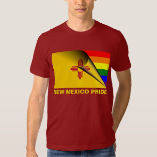 Bandera del arco iris del orgullo LGBT de New Remera