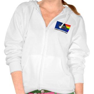 Bandera del arco iris del orgullo LGBT de Pennsylv Sudadera