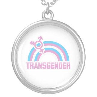 BANDERA DEL ARCO IRIS DEL TRANSEXUAL COLGANTES PERSONALIZADOS