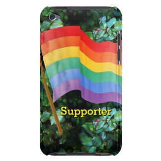 Bandera del arco iris iPod touch Case-Mate protectores