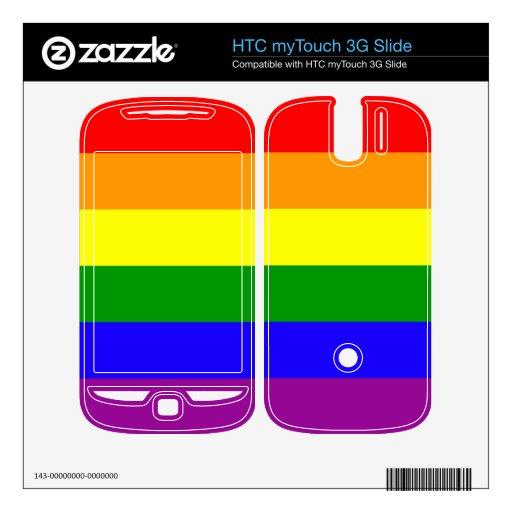 Bandera del arco iris HTC myTouch 3G slide skin
