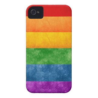 Bandera del arco iris iPhone 4 Case-Mate carcasas